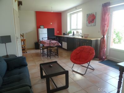 Photo for House for 2 to 4 people near the beach, train station and corsair city