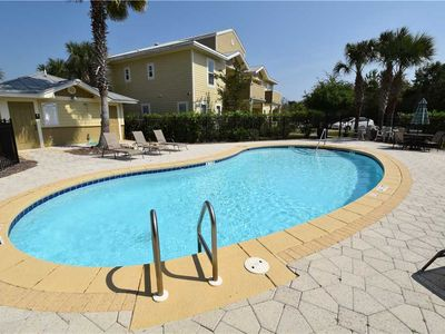 Photo for 1 mile from beach! Condominium w/ Pool, Tennis Court- Affordable vacation!