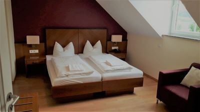 Photo for Modern 2-room apartment with fitted kitchen in the first row on the Moselle!