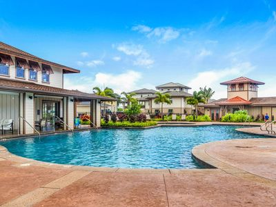 Photo for Pili Mai Steps to Gorgeous Pool! Central AC Panoramic Mountain Views 2nd Floor