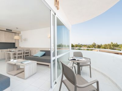 Photo for APTO. LAGOON CENTER II - Apartment with shared pool and capacity for 2 adults + 2 children (up to 12 years) in Puerto de Alcúdia