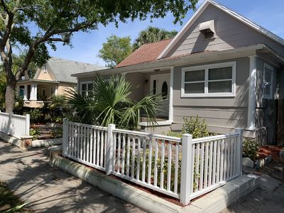 Photo for Cute Bungalow minutes from Downtown St Petersburg!