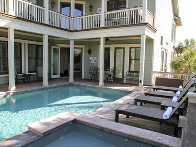Photo for Private Pool Across The Street From The Beach On The Isle Of Palms!