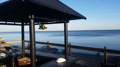 Morning view on beach side deck, simply awesome! What a way to start the day!