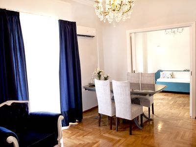 Photo for Located a 2 min  walk from National Archaeological Museum of Athens.