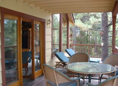 Porch with Ample Seating