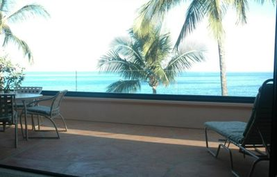 'Lanai View from Living Room' Unsurpassed view just feet from the ocean