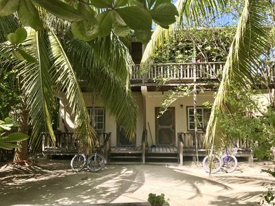 Photo for Peaceful Garden Studio Located in the Lush Island Jungle of Caye Caulker