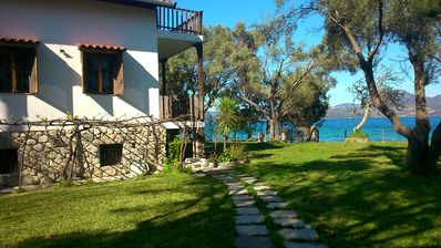 Photo for Private beach independent villa..fully equipped to satisfy your needs