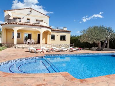 Photo for l'Ametlla de Mar Holiday Home, Sleeps 11 with Pool and WiFi