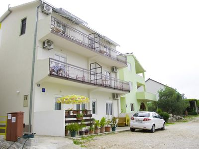 Photo for One bedroom apartment with balcony and sea view Podaca (Makarska) (A-15748-b)
