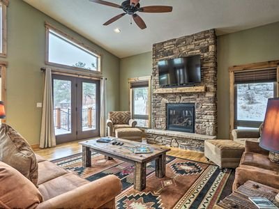 Photo for Luxe Home w/ Deck & BBQ - 5 Min to DT Estes Park!