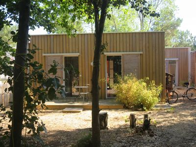 Photo for Wooden house on the Vendée coast