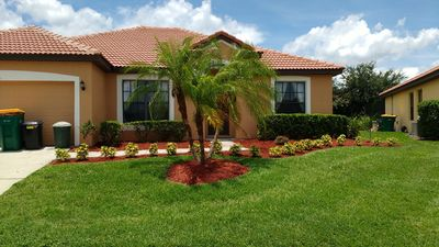 Valerie's at Villa Sol. A quiet gated family community.