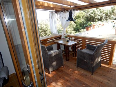 Photo for LOVELY COTTAGE with SEA VIEW deck near BEACH and FERRY PORT