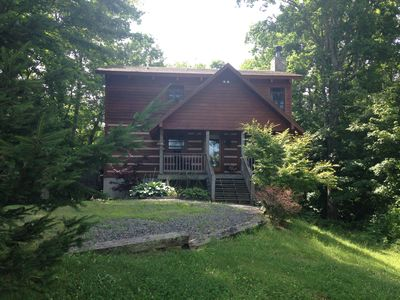 Photo for Share our Piece Of Heaven On 2+acres *Hot Tub* Fireplace 3br 2ba  Pet Friendly