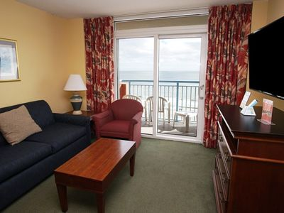 Photo for Roxanne Towers #706, 2 BR Ocean Front Condo with Outdoor Swimming Pool, Hot, Lazy River and Kiddie Pool