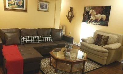 Photo for Luxury Furnished Very Spacious 2-Bdrm New Apt. in an upscale neighborhood