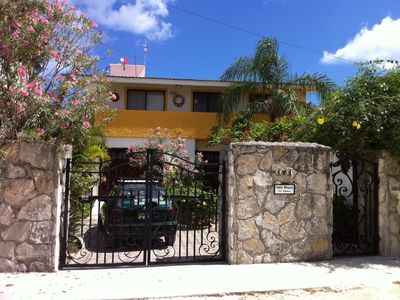 Photo for Beautiful Beach House in Cozumel, Secure, Close but not too close to Everything