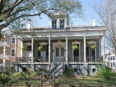 Photo for 2 BLOCKS FROM PARADE ROUTE!  PRIVATE ENTRANCE, COURTYARD, HISTORIC MANSION