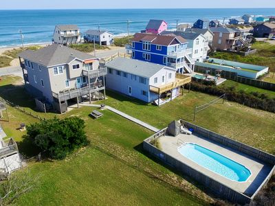 Photo for Hokie Heaven | 50 ft from the beach | Private Pool, Hot Tub