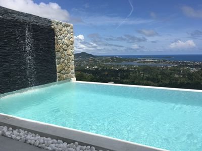 Photo for New Melissa Villa 2BR Infinity Pool Panoramic Sea View