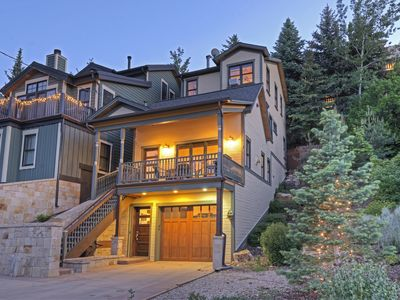 Photo for Perfect Location Walk to Skiing! 3BR/3.5BA Luxury Chalet in the Heart of Old Town