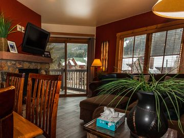 River Run Condo, Slope Views from Balcony, King Bed, 2 Bunk Beds, Free WIFI