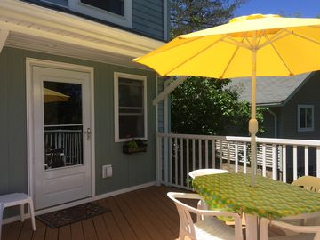 Open all year.  Large, clean, comfy and tasteful! Near Trails.