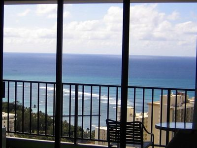 Photo for Magnificent Ocean View Penthouse w/ free parking at the Waikiki Banyan Resort