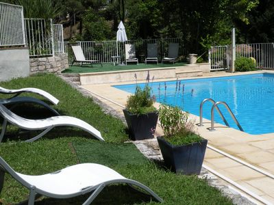 Photo for Ravel Gite: Gite in the countryside with pool, tennis, hiking ...
