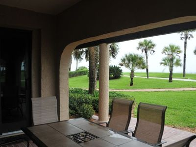 Photo for Amelia Island Plantation Ocean Front Ground Floor Condo with beach gear!