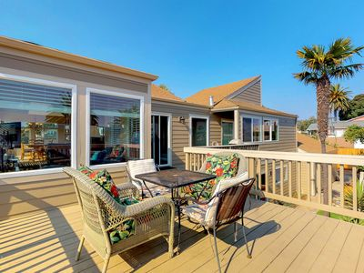 Photo for Ocean & dune views from the private deck, pool table, fireplace, & Roku TV