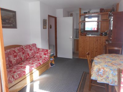 Photo for Cosy, stored appartment (for 4 pers) right in the heart of Peisey Nancroix