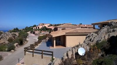 Photo for Costa Paradiso: Villa with swimming pool Sea view Spectacular and panoramic