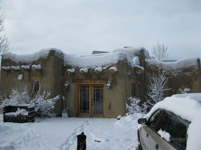 Winter Snow - Front Entrance