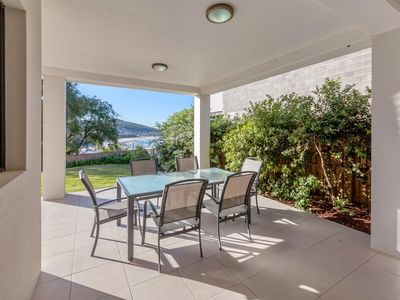Photo for Enjoy the relaxed beach lifestyle at Fingal Bay, in a modern duplex (with...