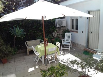 Photo for Dependance 5 min walk from the beach