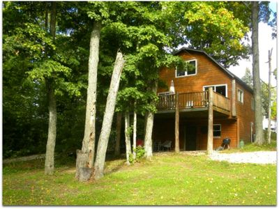 Photo for EAST LAKE COTTAGE : 45 miles from Tahquamenon Falls! Sleeps 5, Pets welcome!