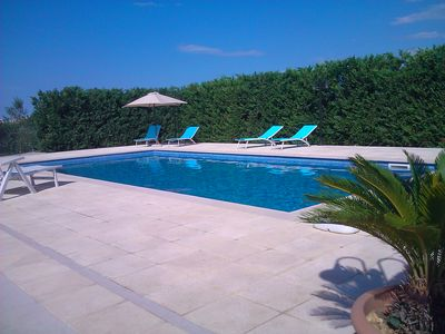 Photo for Villa with pool in Puglia. Great location, sea, town and quiet