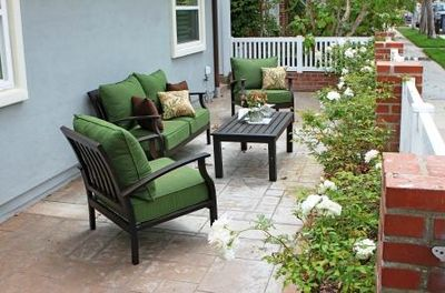 Lovely area to enjoy the sunshine - Lovely patio area to enjoy the sunshine.