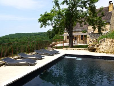 Photo for Charming Fully Renovated Stonehouse With Heated Swimming Pool