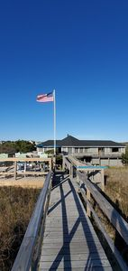 Photo for OCEANFRONT! Southern Shores.w/private beaches, dune deck, ramp access to house
