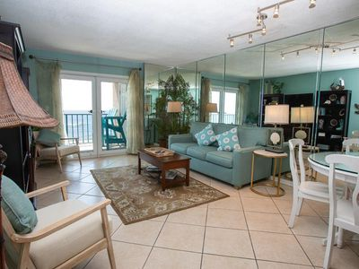 Photo for BEAUTIFUL DIRECT GULF FRONT UNIT, COZY DECOR, 2 POOLS, CLOSE TO GULF SHORES ACTIVITIES