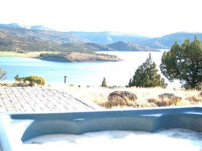 Photo for Gorgeous Views from this Prineville Reservoir Retreat