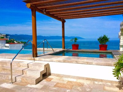 Photo for BEST LOCATION IN PUERTO VALLARTA!!!!!! 1 BLOCK FROM THE BEACH AND BLUE CHAIRS