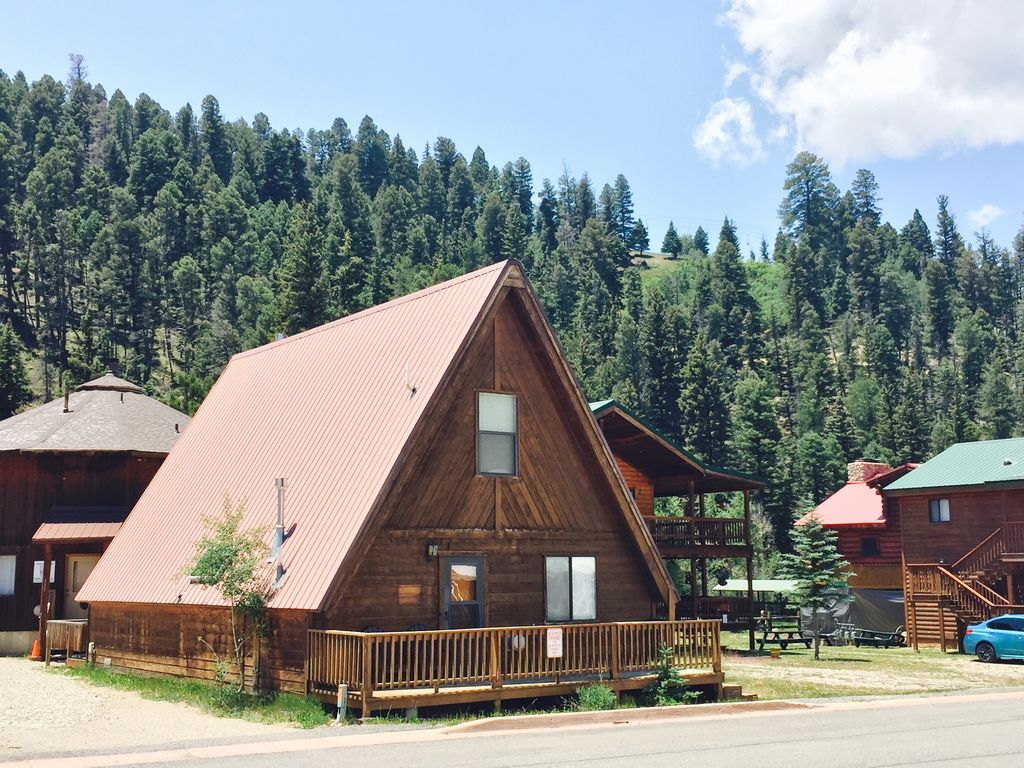 luxury mountain first river rocky cabin nm stunning property cabins the red ha on class