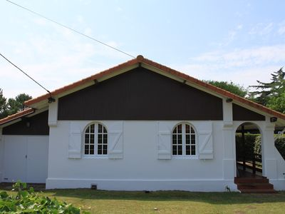 Photo for Mimizan beach south house 300 meters from the beach with large garden