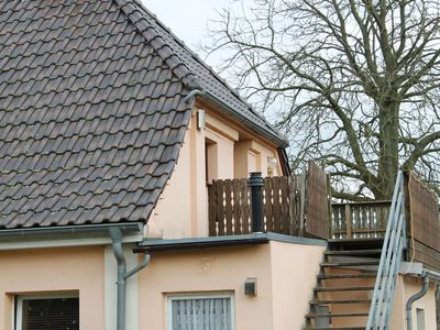 Photo for Cosy, half-timbered three-room apartment with garden and barbecue terrace