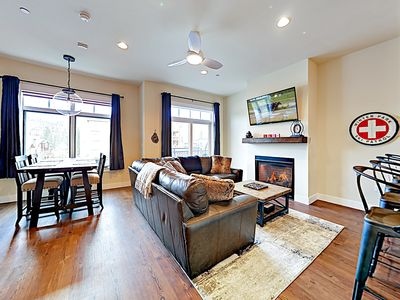 Photo for New Listing! New & Contemporary Downtown Condo w/ Balcony & Gas Fireplace